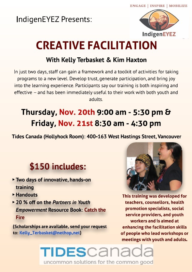 New Dates for Creative Facilitation!