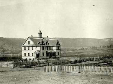 """St. Joseph Mission School for Girls,"" c. 1922. Photo: BC Archives"